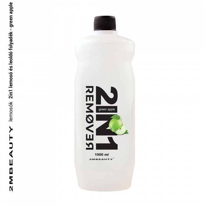 2in1 remover - green apple